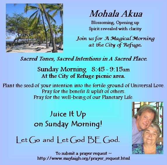 Mohala Akua Prayer Circle